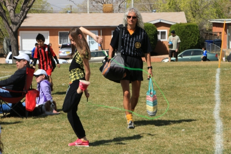 Rope Dancing and the Ref