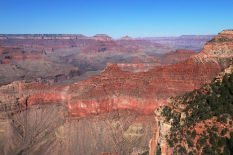 Grand Canyon South Rim: Breathtaking Red Wall