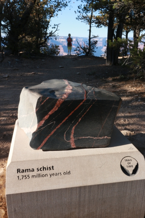 Grand Canyon South Rim:  Rama Schist