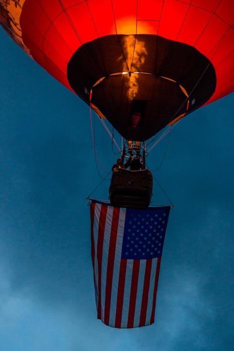 Balloon Fiesta 2015 | Dawn Patrol @ 6:08:16 AM