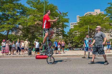 Balancing Bob, Street Performer