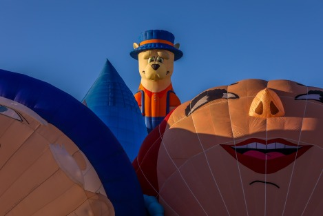 Special Shaped Hot-Air Balloon, Little Dog, In the Middle